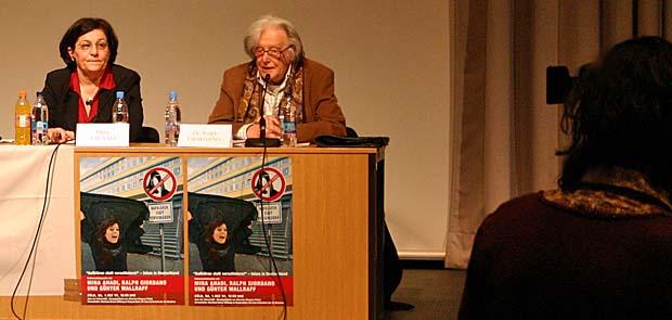 Ralph Giordano und Mina Ahadi
