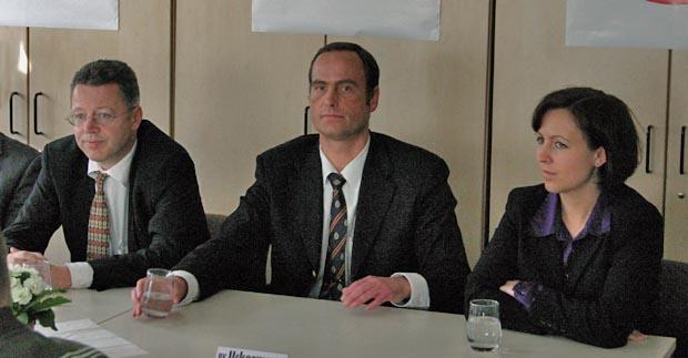 Pro-Köln Funktionäre Beisicht, Uckermann und Wolter