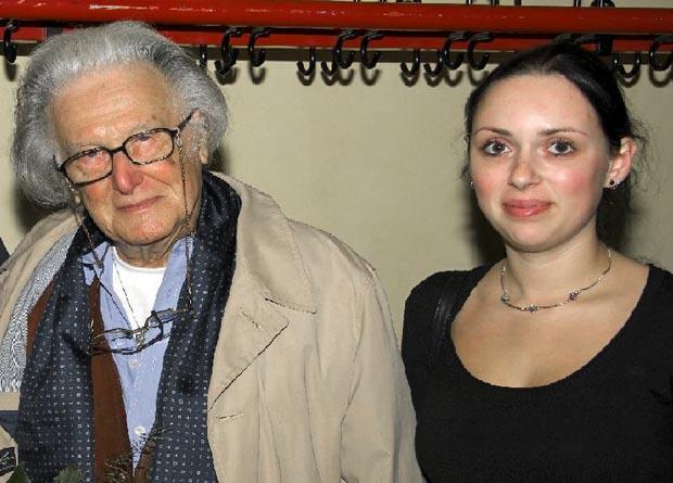 Ralph Giordano bei der Kritischen Islamkonferenz 2008, zusammen mit der im selben Jahr verstorbenen Islamkritikerin Britta Nurkowski