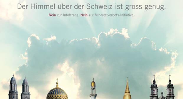 Die Schweizer ließen sich auch durch Werbetricks für den Islam nicht hinters Licht führen