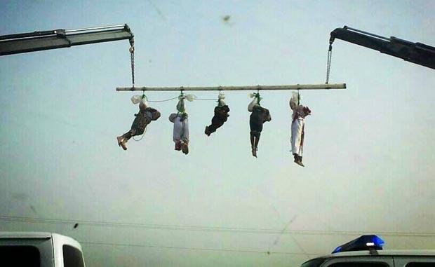 Der Islam gehört zu Saudi-Arabien: 5 Jemeniten wurden letzte Woche gekreuzigt
