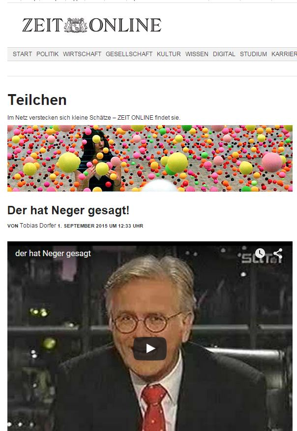 Kartenspiel Neger