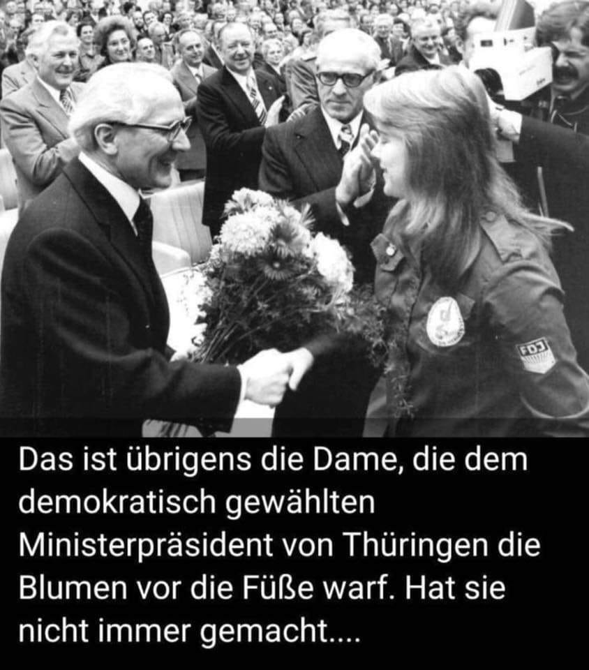 Merkel Und Honecker